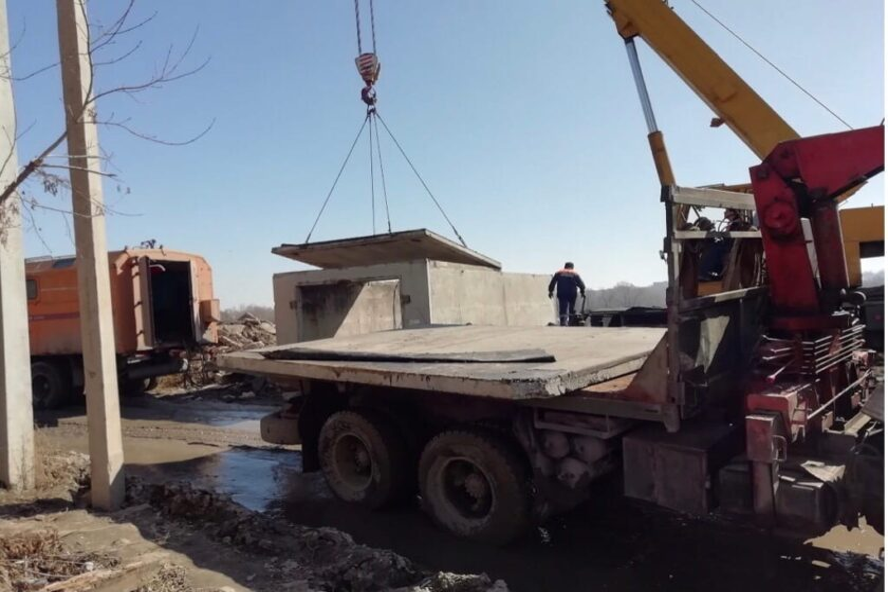 Недостроенный и заброшенный гараж демонтировала администрация Ульяновска, фото-1